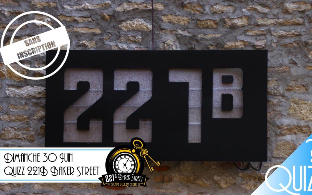 Quizz: 221B