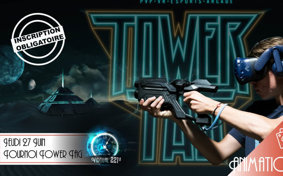 Tournoi Laser Game VR: Tower Tag